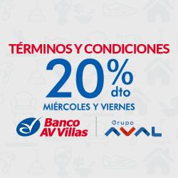 20% Grupo Aval