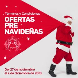 Ofertas Pre navideñas 2018