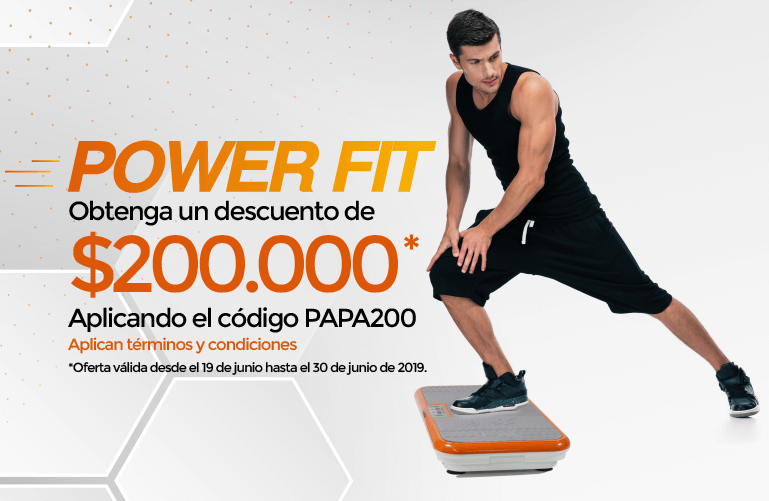 PowerFit Cupon Papa MOBILE