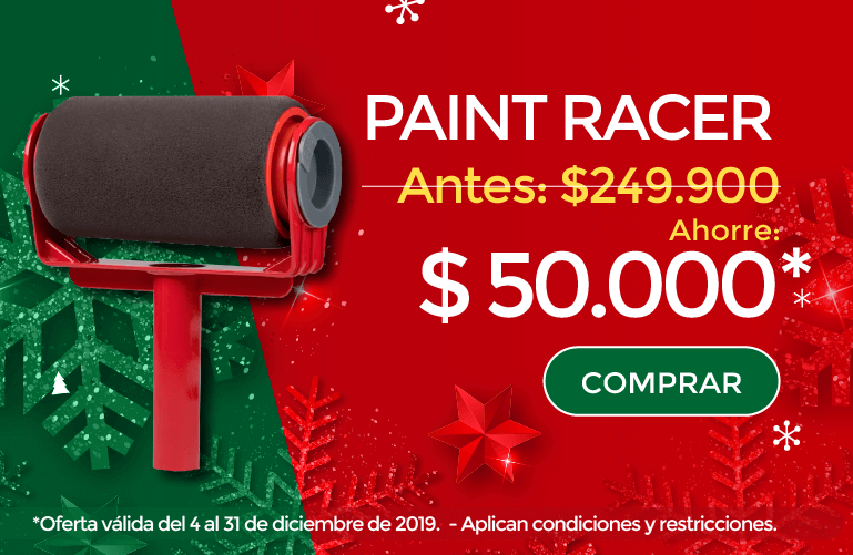 Paint Racer Navidad Mobile